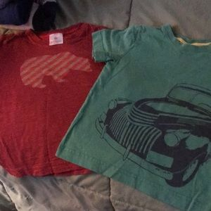 Two Hanna Andersson t-shirts